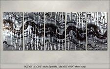 Modern Original Metal Wall Art Abstract Special Indoor Outdoor Decor by Artist
