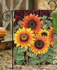 Toland Sunflower Medley 12.5 x 18 Autumn Fall Flower Garden Flag