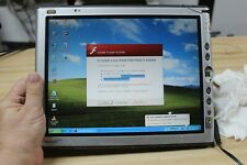 """MOTION  M1400  T003 12.5"""" WIN XP DIGITIZER TABLETS WITH STYLUS LOT OF 5  *AS IS*"""
