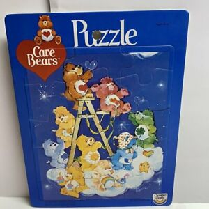 Care Bear Vintage 1983 Puzzle large Creative Crafts all pieces complete