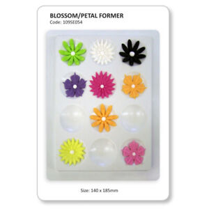 JEM Blossom & Petal Flower Former 12 Cavity Cake Decorating Sugarcraft