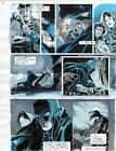 BATMAN MASTER OF THE FUTURE Pg #8 HAND COLORED PRINT GUIDE Barreto & Steve Oliff