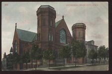 Postcard SIOUX CITY Iowa/IA  Church Cathedral view 1907