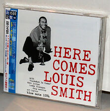 BLUE NOTE CD TOCJ-6594: Here Comes LOUIS SMITH - OOP JAPAN 2005 OBI NEW