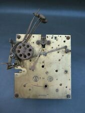 Vintage Gustav Becker P18 part clock movement - repair or spares