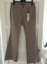 *BNWT* Oui Designer Cream/Beige Bootcut Trousers, UK 12, RRP £90. Bargain!