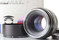[Unused in Box w/ Hood] Carl Zeiss Planar 50mm F/1.4 ZE For Canon Lens Japan 813