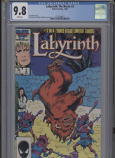 LABYRINTH THE MOVIE #2 MT 9.8 CGC WHITE PAGES BUSCEMA COVER AND ART JACOBSON STO