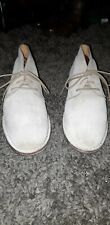 Cole Haan Beige Suede Lace Up Glenn Chukka Boots, Size 11.5M
