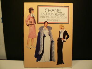 """Paper Dolls, """"Chanel Fashion Review"""" 1986"""