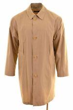 HUGO BOSS Mens Top Coat Size 40 Large Brown  IK06