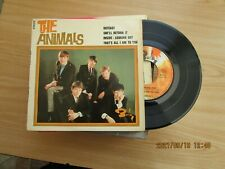 THE ANIMALS=THE ANIMALS (FRENCH)  E.P.  P/C  VG++