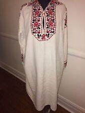 Antique Embroidered Ukrainian Dress
