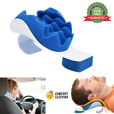 New Neck And Shoulder Relaxer Pillow Pain Relief Cervical Relax Supporter Spine