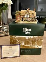 Lilliput Lane Sweets And Treats Cottage, 2000 -Boxed With Deeds-2000 Anniversary