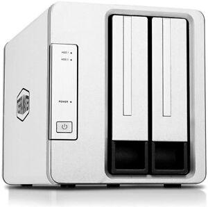 TERRAMASTER D2-310 USB Type C External Hard Drive RAID Enclosure USB3.1