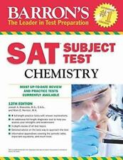 Barron's S. A. T. Subject Test Chemistry by Joseph A. Mascetta and Mark...
