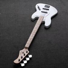 Gjazz â…¡ Upgrade Electric Bass Guitar with Pickup Warwick Bass Strings White