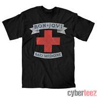 BON JOVI T-Shirt Bad Medicine Brand New Authentic S-2XL