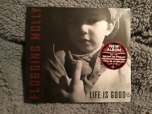 Flogging Molly - Life Is Good Cd New And Sealed
