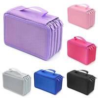 4 Layers 72 Pen Pencil Case Bag Pouch Organizer Large Capacity Storage Holder