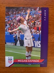 Megan Rapinoe 2019 Panini Instant #17 - USWNT World Cup - Womens Soccer