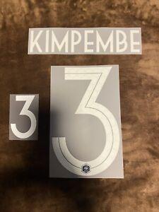 Flocage Officiel ⭐️⭐️ 2018/2020 Home Equipe De France Kimpembe Adulte Domicile