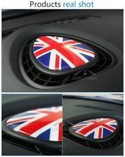 Union Jack Mini Cooper JCW One F56 F55 voiture grille d'aération capot Autocollant Logo Badge décal.