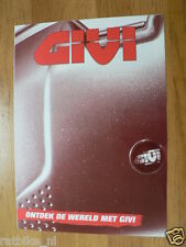 O135 BROCHURE GIVI ACCESSORIES DUTCH 6 PAGES TOPCASE
