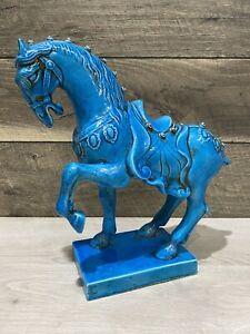 URBANO ZACCAGNINI VINTAGE MID CENTURY LARGE HORSE SCULPTURE - 50S RAYMOR BITOSSI