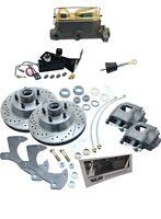 1958-1960 Ford Thunderbird Disc Brake Kit & Adjustable Manual Master Cylinder