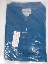 AQUA BLUE POLO STYLE COLLAR SHIRT CLUB COLORS SIZE: X-LARGE (LL2497)