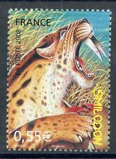 STAMP / TIMBRE FRANCE  N° 4175 ** FAUNE PREHISTORIQUE / SMILODON