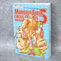 MONSTER FARM 5 Circus Caravan Complete Guide Book PS2 MW65*