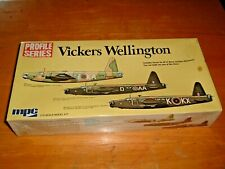 Profile Series MPC Model VICKERS WELLINGTON Kit #2-2005 Three Version DECALS