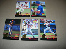 COMPLETE MAIL IN BASEBALL SET SIGNATURE ROOKIE SET WITH DEREK JETER