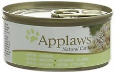 Applaws Kitten Food Tin Chicken, 70g, Pack of 24