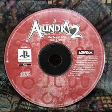 Play Station 1 Spiel PS1 Alundra 2  Spiel