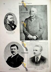 Editors (1), Mudford, Fletcher, O'Connor, Robinson, Book Illustration, 1893