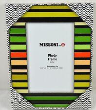 MISSONI for Target Metal Photo Frame - Photo size 10cm x 15cm - BNWT