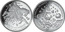 2017 LATVIA LETTLAND 5 EURO SMITH FORGES IN THE SKY Proof PP