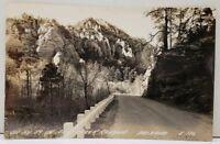 Arizona On Highway 89 in Oak Creek Canyon Photo Postcard D5