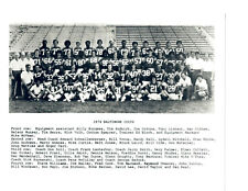 1974 BALTIMORE COLTS 8X10 TEAM PHOTO CURTIS JONES HALL  FOOTBALL NFL USA