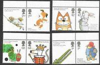 Animal Tales-2006 mnh set Great Britain-cartoons-literature.Paddington-