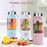 550ML Portable Fruit Juicer Blender Juice Shaker Bottle USB Electric Mixer Cup