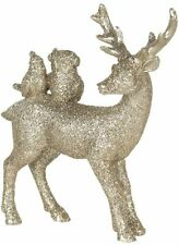 Deko Shops Clayre&Eef Deko Decoratie -Goldfarbig Polyresin Dekor Wohnaccessoires