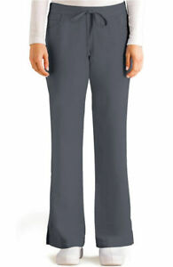 Grey's Anatomy #4232 Elastic Drawcord Waist Scrub Pant in Granite Size XS-Petite