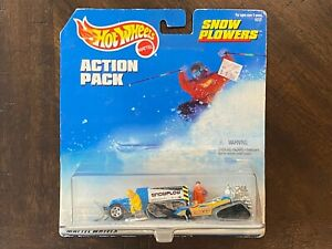 Hot Wheels 1998 Action Pack Snow Plowers Big Chill & Power Plower