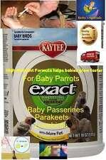 kaytee EXACT Hand Feeding High Fat Baby Bird macaws Food Formula 18 oz parrot