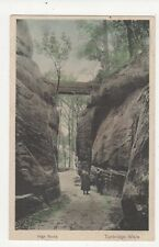 High Rocks Tunbridge Wells Vintage Postcard 277a